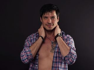 Gay web cam mature model