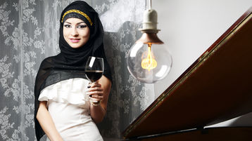 KaylaMuslim's heta webbkam show – Flickor på Jasmin