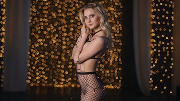 PosySuperBlond:n kuuma kamera-show – Nainen sivulla Jasmin