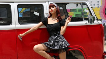 LovingAlissa:n kuuma kamera-show – Nainen sivulla Jasmin