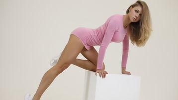 EvaGlam szexi webkamerás show-ja – Lány a Jasmin oldalon