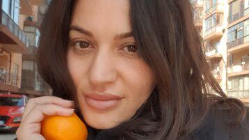 MiaIvy:n kuuma kamera-show – Nainen sivulla Jasmin